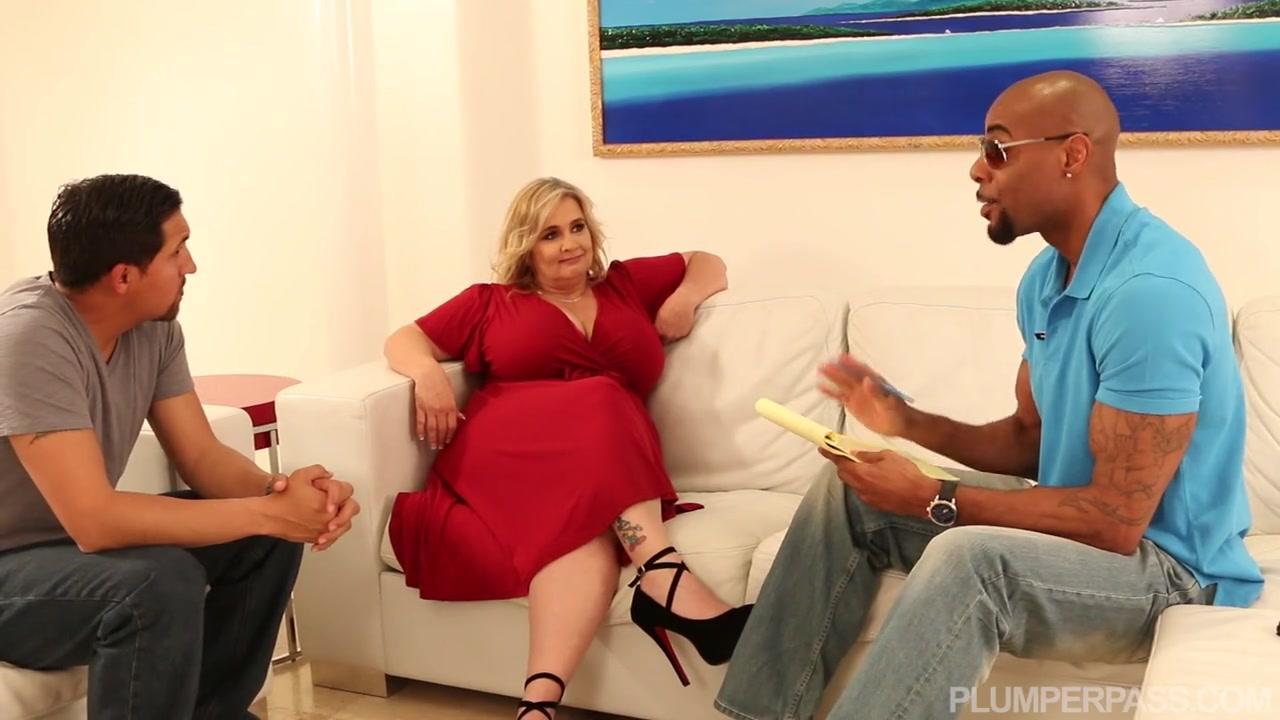 Кастинг жирной женщины