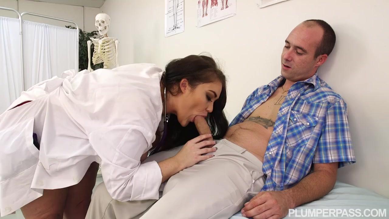Голодная медсестра в теле