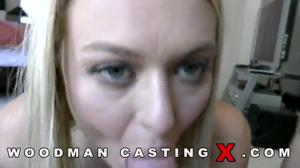 Белокурая Наталия на кастинге Вудмана - скриншот #20
