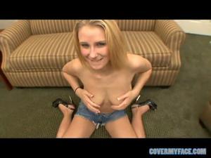 Все желающие кончают на лицо блондинке - скриншот #6