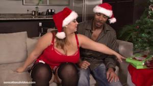 На Новый Год подарила себе секс с негром - скриншот #2