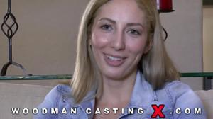 Начинающая порно модель Angelica Saige разделась на кастинге - скриншот #15