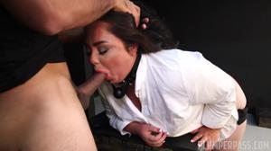 Толстячка захотела быть наказанной - скриншот #4