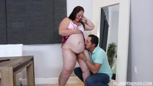 Беременная толстушка занимается сексом - скриншот #5