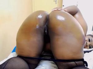 Сочная жопень негритянки - скриншот #21