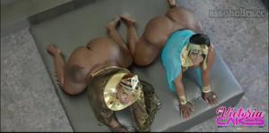 Сочные негритянки ебутся между собой - скриншот #6