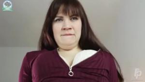 Отъебанная в рот и в киску скромная дамочка - скриншот #12