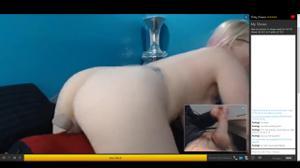 Вирт с грудастой красавицей блондинкой - скриншот #15
