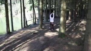Показала жопу и пизду после пробежки - скриншот #7