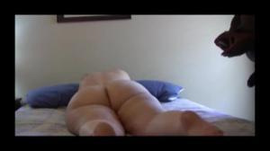 Черный ебет взрослую толстячка - скриншот #13