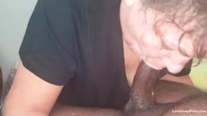 Пожилая баба и черный любовник - скриншот #8