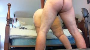 Мужчина гордо ебет толстую жену - скриншот #13