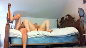 Мужчина гордо ебет толстую жену - скриншот #21