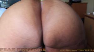 Пухлая черная жопа с морщинами - скриншот #3