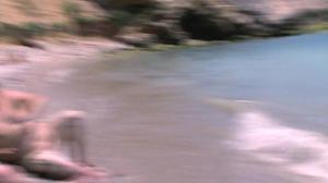 Итальянская чика ебется на пляже - скриншот #10