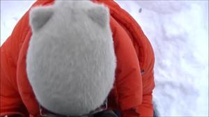 Минет на улице зимой - скриншот #18