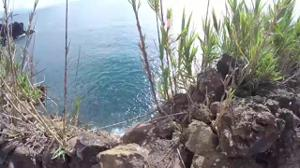 Минет на побережье красивого залива - скриншот #21