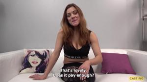 Грудастая чешка Мари шоркнулась на кастинге - скриншот #1