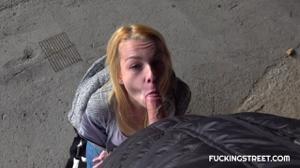 Водила трахнул сучку под заброшенным мостом - скриншот #6
